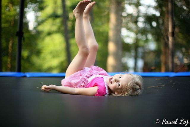 trampoline enfant - conseils utilisation